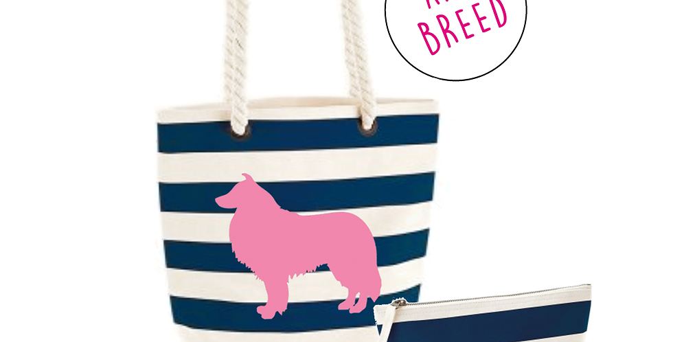 Navy Boardwalk: Tall Set - Any Breed