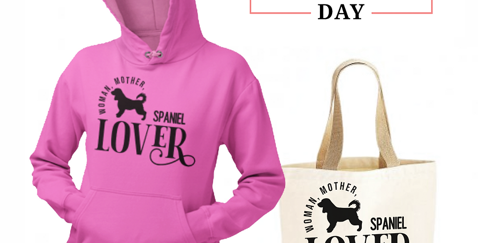 Spaniel Lover - Shopper & Hoodie Bundle