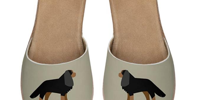Leather Sliders - Keen King Charles