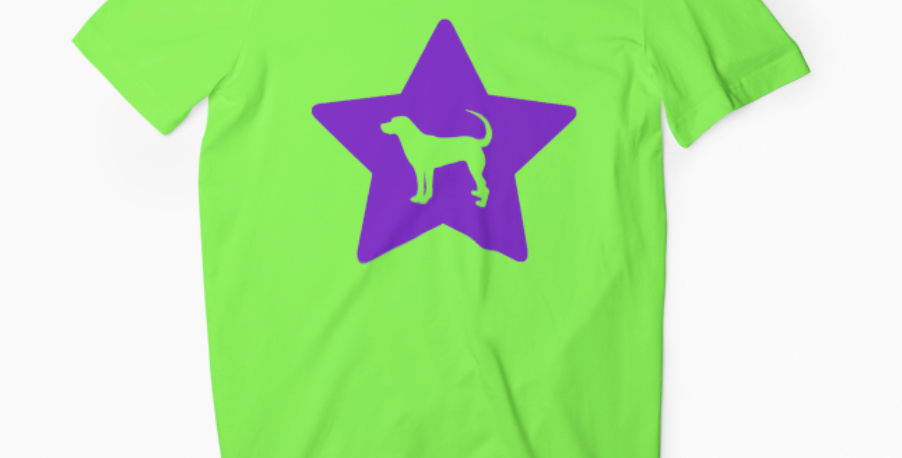 Bright Star Lime Tee - ANY BREED