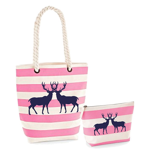 Hampshire Stags Beach Bag Set