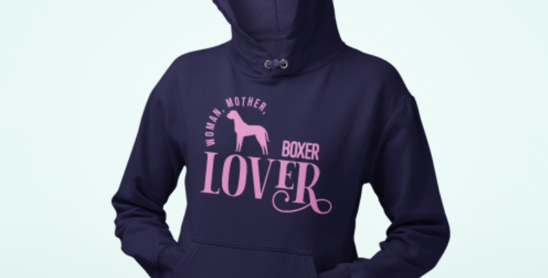 Woman, Mother Boxer Lover - Hoodie