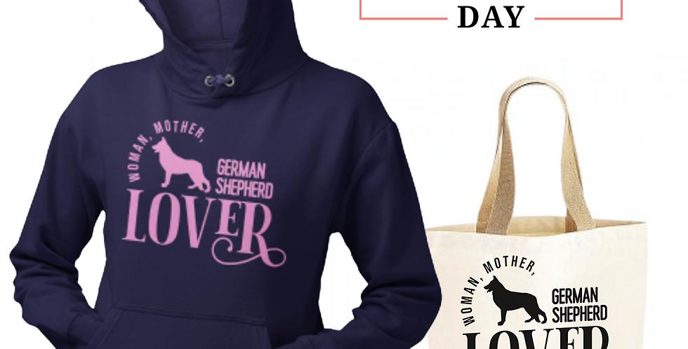 German Shepherd Lover - Shopper & Hoodie Bundle