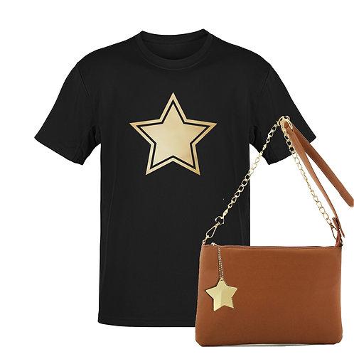 BLACK STAR - Tee & Bag Bundle