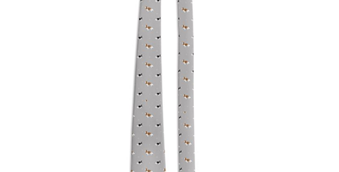 Grey Multi Tie - Keen King Charles