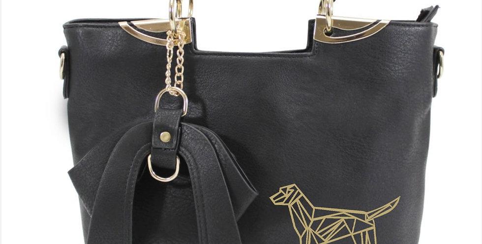 Bow-Wow Tote Bag - Black
