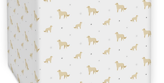 Grey Square Lampshade - Goldens Galore