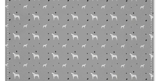 Grey Multi Pocket Squares (2) - Dotty Dallies