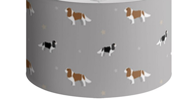 Large Round Ceiling Shade - Keen King Charles