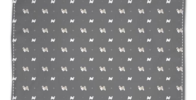 Grey Napkin Set (4) - Super Tzus