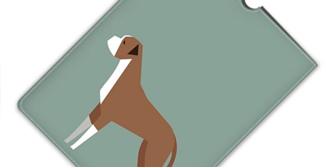 Leather iPad Case (Mini) - Bounding Boxers