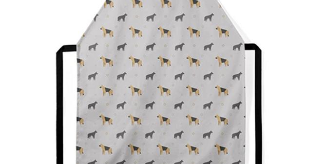 Grey Ultra Suede Apron - Smart Shepherds