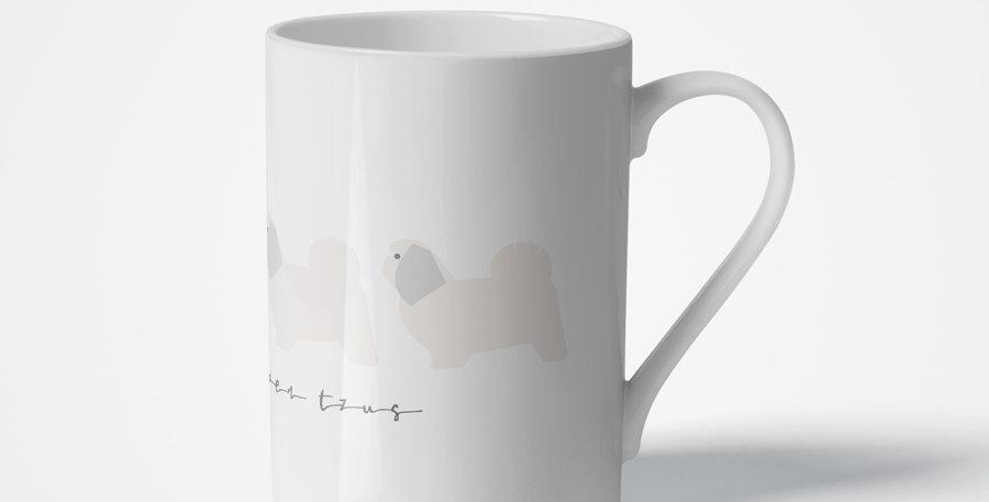 Trio Porcelain Mug - Super Tzus