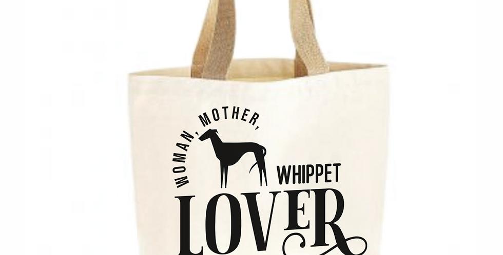 Classic Jute & Canvas Whippet Shopper