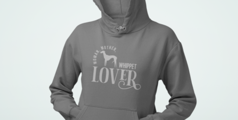 Woman, Mother Whippet Lover - Hoodie