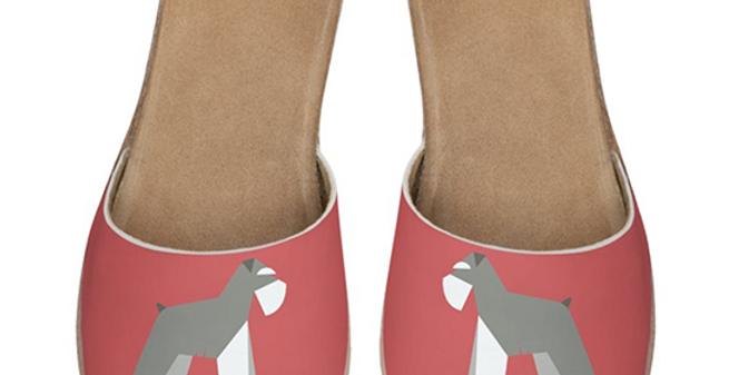 Leather Sliders - Snazzy Schnauzers