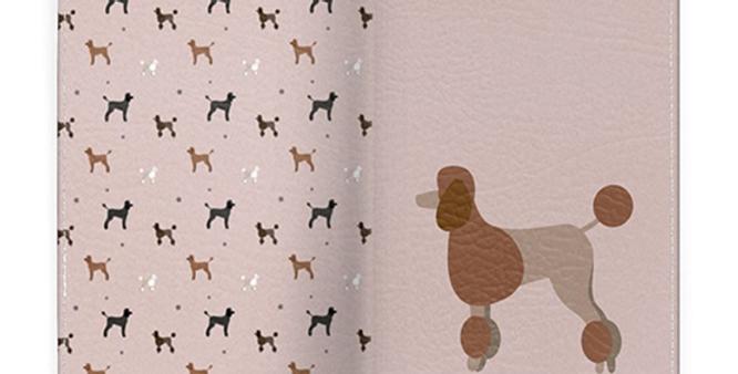 Passport Cover - Pom Pom Poodles
