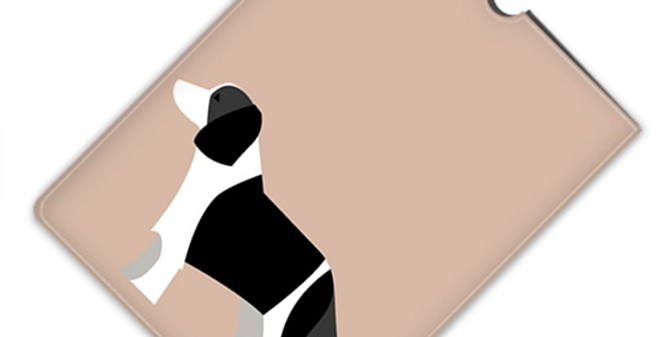 Leather iPad Case (Mini) - Scrumptious Springers