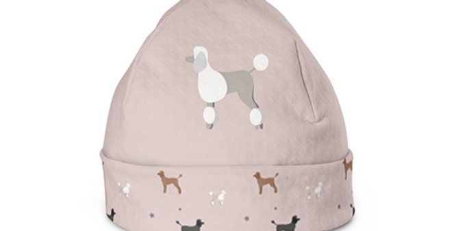 Beanie Hat - Pom Pom Poodles