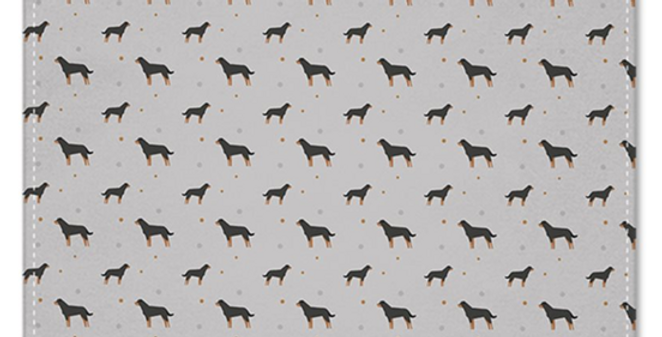 Grey Multi Pocket Squares (2) - Rock n Roll Rotties