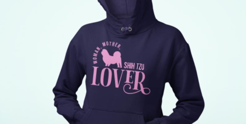 Woman, Mother Shih Tzu Lover - Hoodie