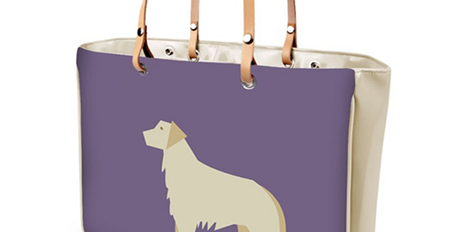 Large Tote Bag - Goldens Galore