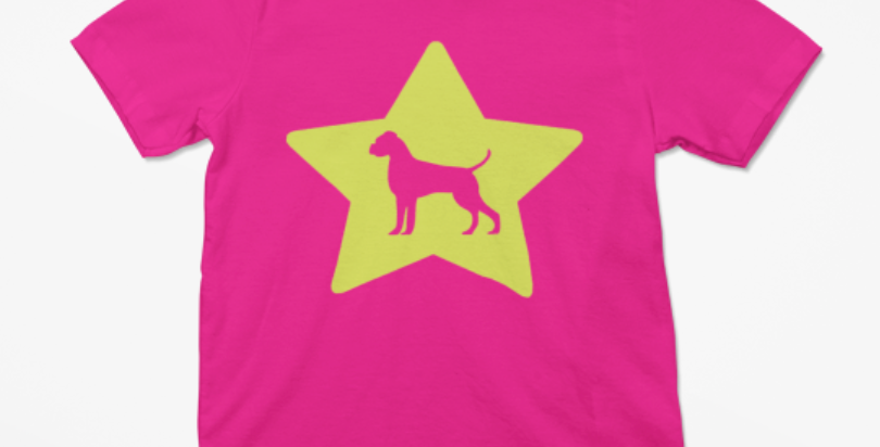KIDS Bright Star Pink Tee - ANY BREED