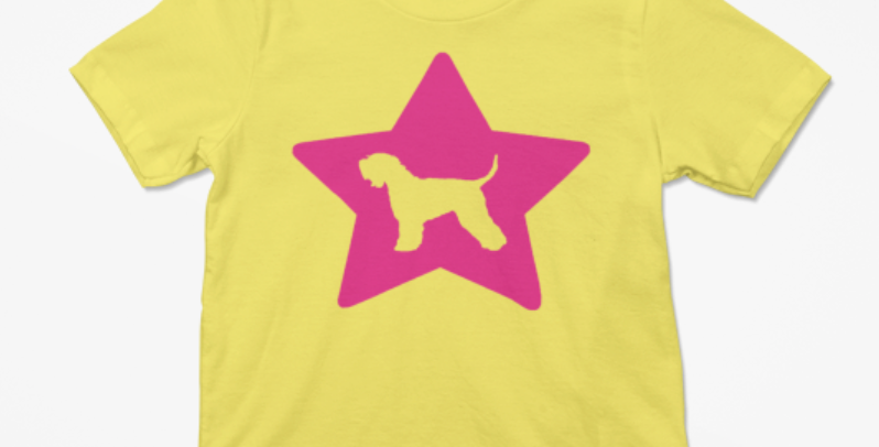 KIDS Bright Star Yellow Tee - ANY BREED