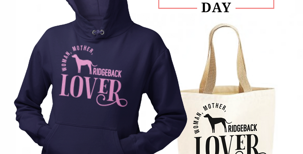Ridgeback Lover - Shopper & Hoodie Bundle