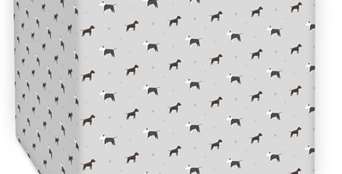 Grey Square Ceiling shade - Sassy Staffies