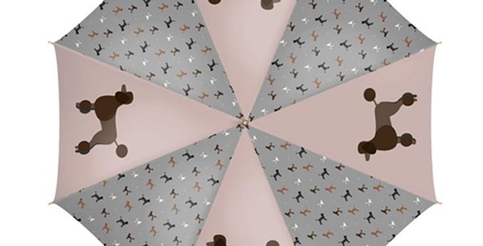 Large Umbrella - Pom Pom Poodles
