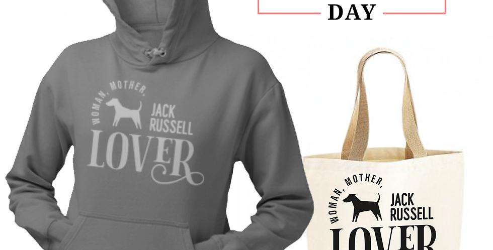 Jack Russell Lover - Shopper & Hoodie Bundle
