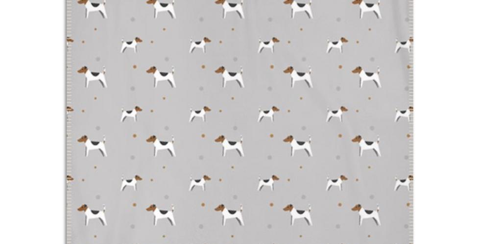 Grey Snuggly Fleece Blanket - Jazzy Jacks