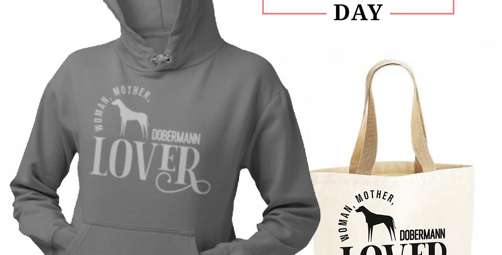 Dobermann Lover - Shopper & Hoodie Bundle