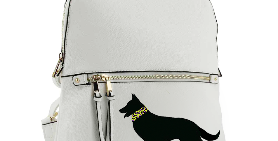 White 'Brights Wild Side' Rucksack - ANY BREED