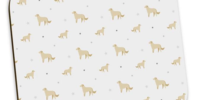 Grey Coaster Set (4) - Goldens Galore