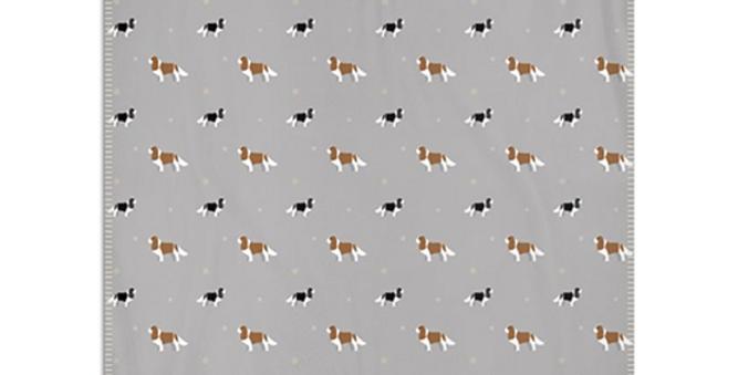 Snuggly Fleece Blanket - Keen King Charles