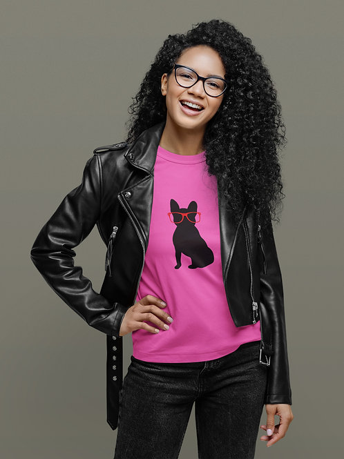 Women's Bespectacled Frenchie Sweatshirt