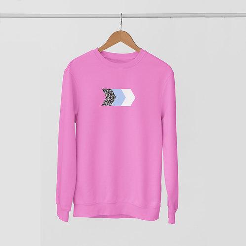 Leopard & Bright Chevrons Sweatshirt