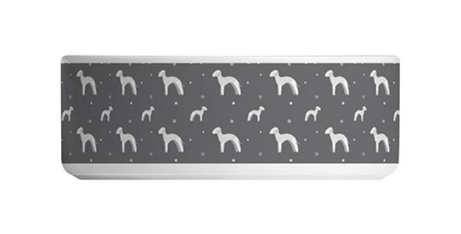 Large Ceramic Dog Bowl - Bashful Beds