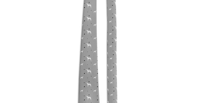 Grey Multi Tie - Dotty Dallies