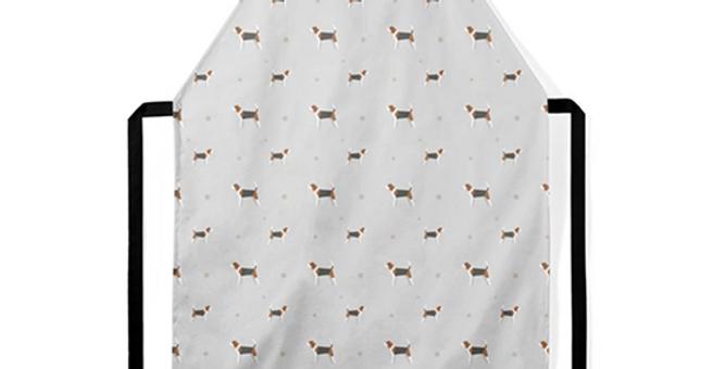 Grey Ultra Suede Apron - Busy Beagles