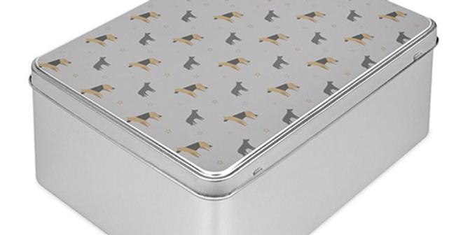 Grey Storage Tin - Smart Shepherds
