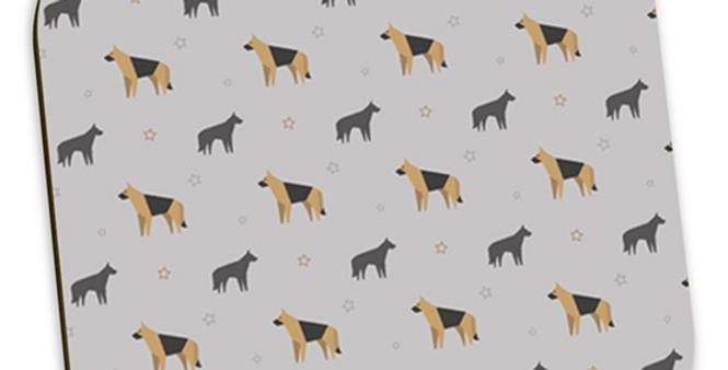 Grey Coaster Set (4) - Smart Shepherds