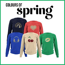 Spring Colour Clothes
