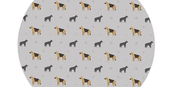 Grey Platter Charger - Smart Shepherds