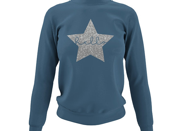 Airforce Blue Sweatshirt - Customise Me!