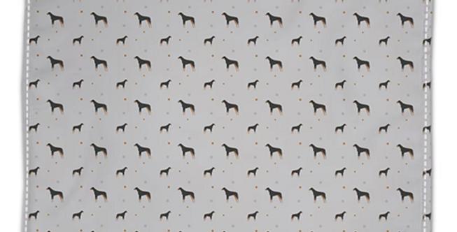 Grey Napkin Set (4) - Dazzling Dobermans