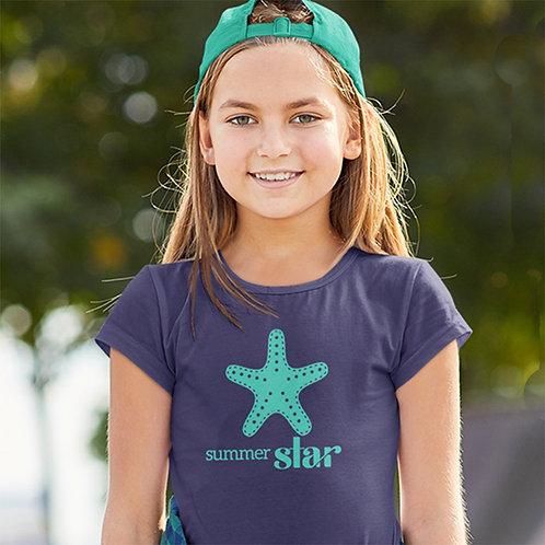 Girls Summer Star T-shirt