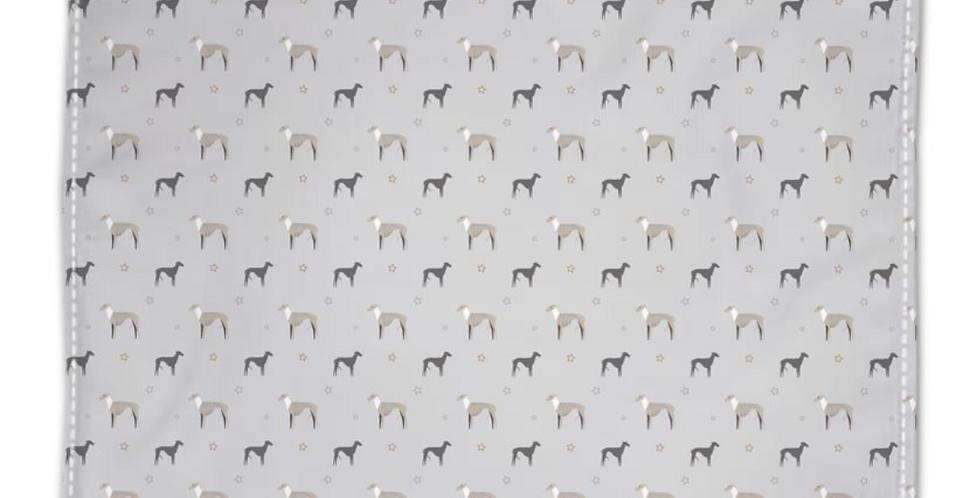 Grey Napkin Set (4) - Whimsical Whippets